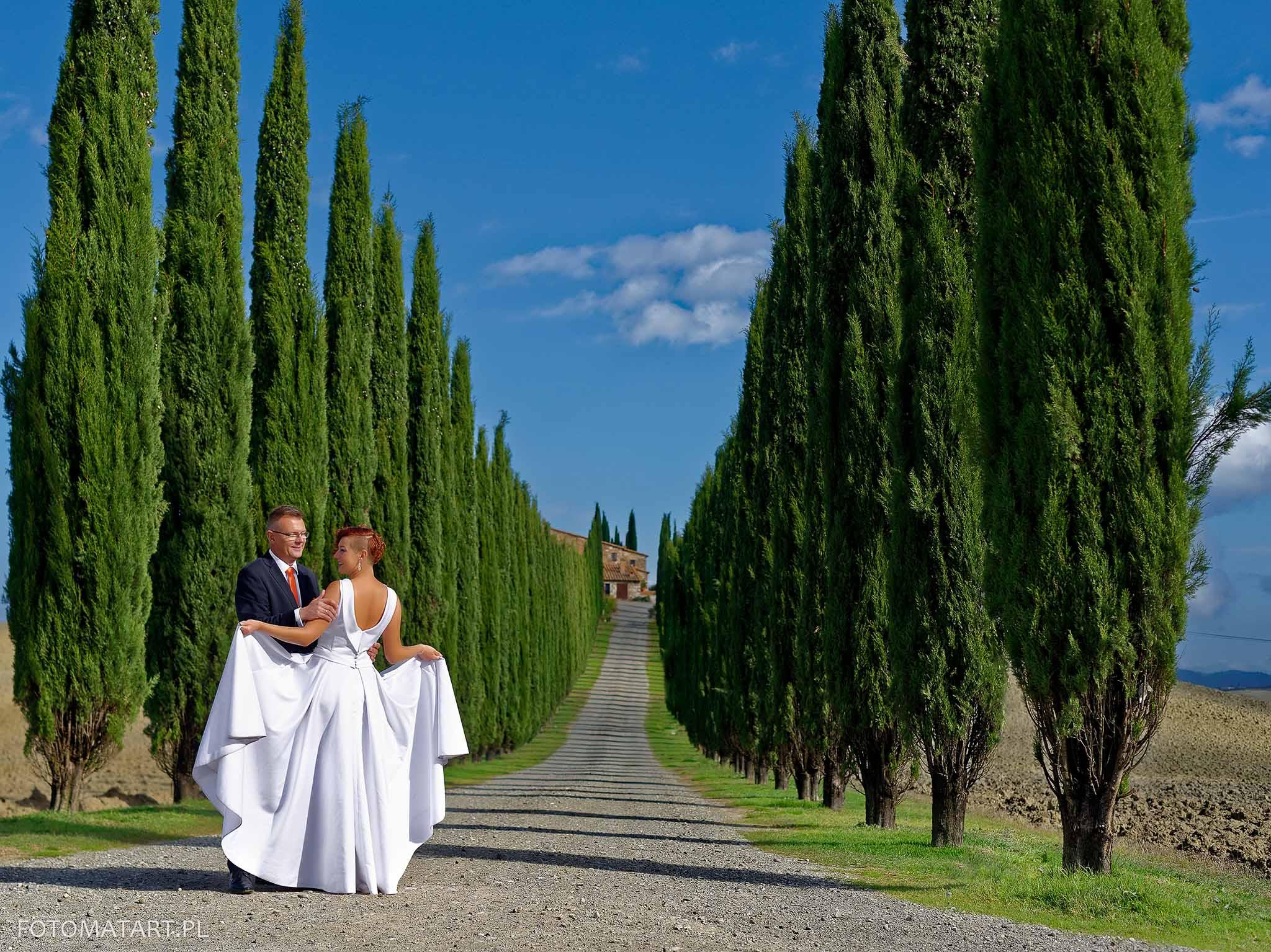 Plener w Toskanii – Natalia i Piotr