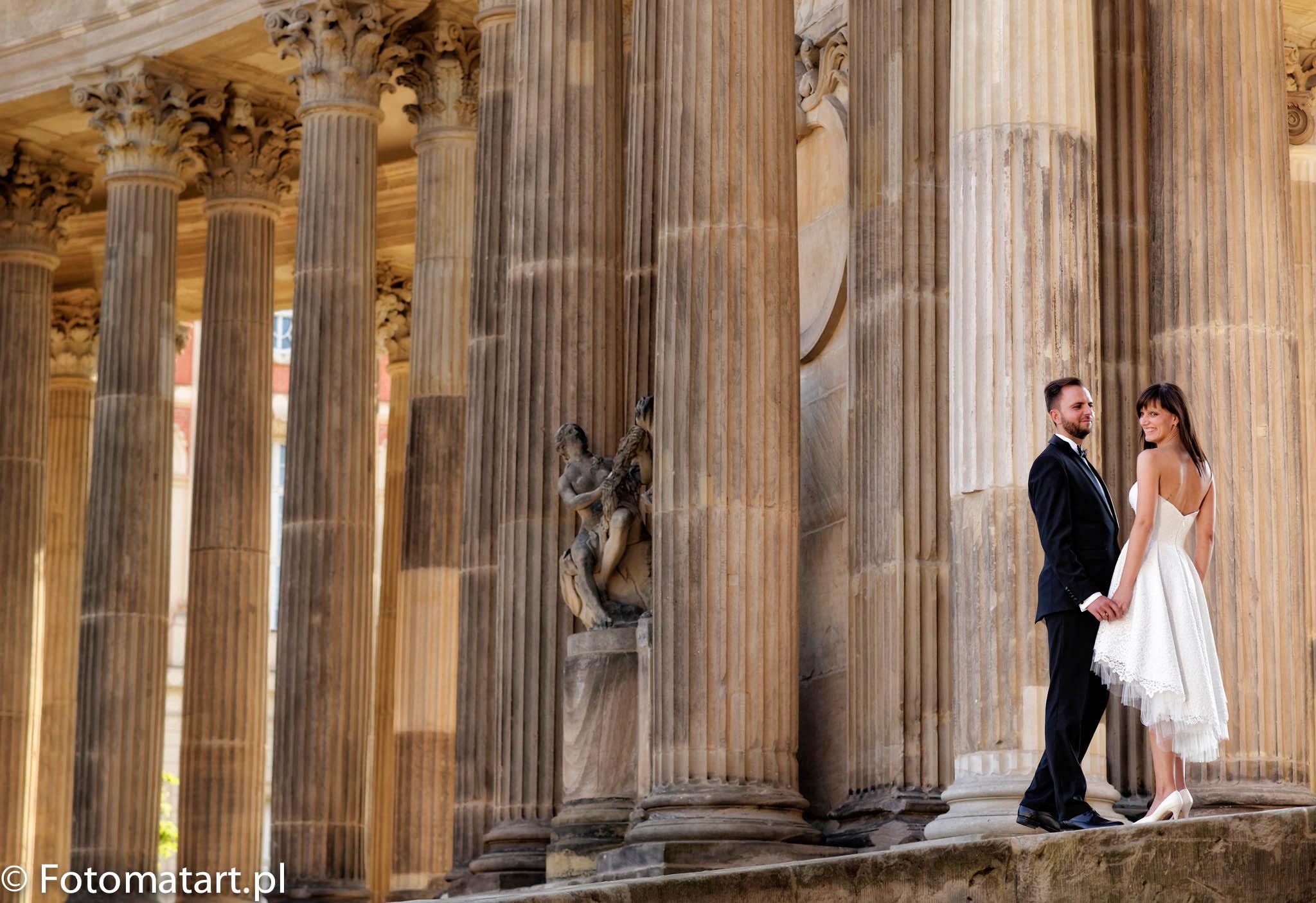Reportaż ślubny, plener ślubny – Aleksandra i Adam